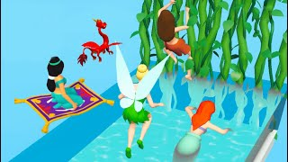 Princess Run 3D 👸🧜♀️🧚 All Levels Gameplay Android,ios PR3D1GP24 screenshot 1