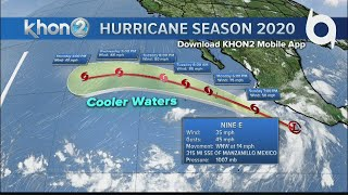 New Tropical Depression Nine-E in Eastern Pacific
