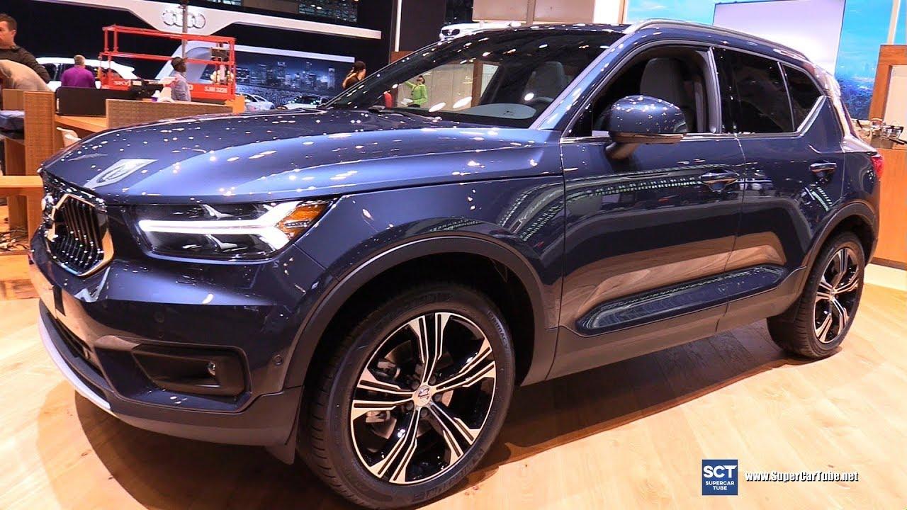 2019 volvo xc40 - exterior and interior walkaround - 2018 new york auto show