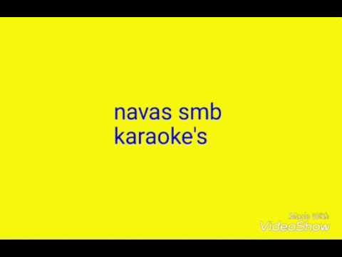 Poomaram - Karaoke with lyrics | Kalidas Jayaram | Abrid shine | navas smb karaoke's