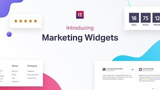 Meet Elementor's New Marketing Widgets: Evergreen Countdown Timer, Star Rating, Reviews & Sitemap