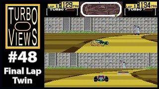 """Final Lap Twin"" - Turbo Views #48 (TurboGrafx-16 / Duo game REVIEW!)"