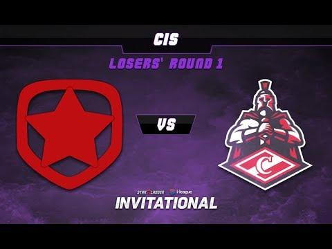 Gambit vs Spartak Game 3 - SL-i Invitational: CIS Qualifier Losers Round 1 -@LyricalDota @EosinDota