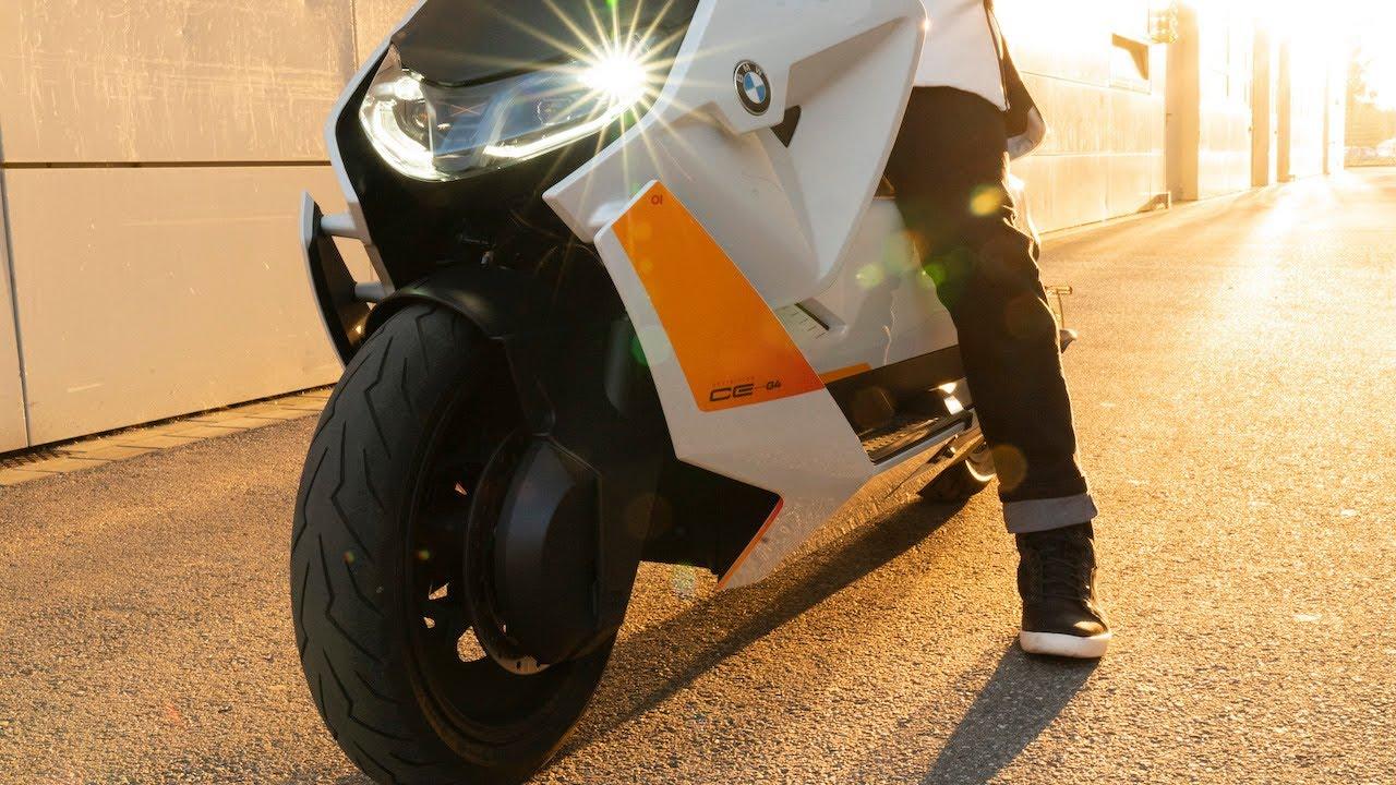 BMW Motorrad Definition CE 04 - YouTube
