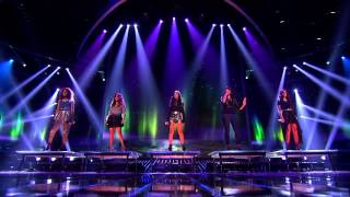 "Fifth Harmony ""Impossible (Spanglish)"" - Live Week 7: Semifinal - The X Factor USA 2012"