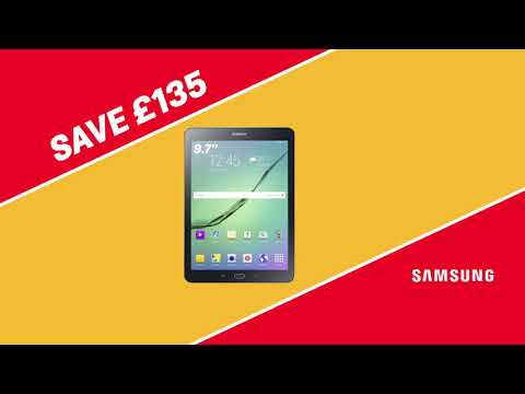 Argos Bank Holiday Deals on TVs and Tablets