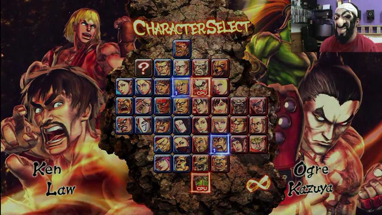 Street Fighter Vs Tekken Xbox 360 Game Play Youtube