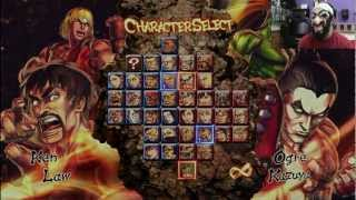 Street Fighter VS Tekken XBOX 360 Game Play