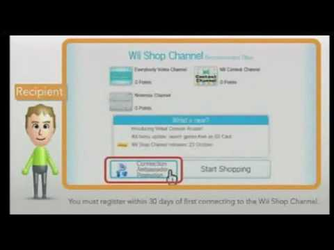 how to get free wii points