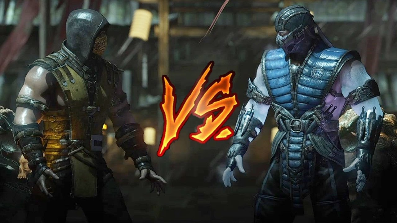 Mortal Kombat X Scorpion Vs Sub Zero Very Hard Youtube