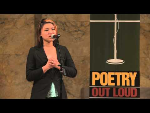 2013 New Jersey Poetry Out Loud Regional Winner Christelle Marie Chua