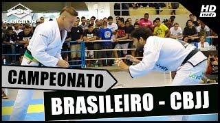 Jiu-Jitsu - Final Brasileiro CBJJ 2014 - Peso Pesado - Dimitrius Souza vs Allan Regis - BJJCLUB
