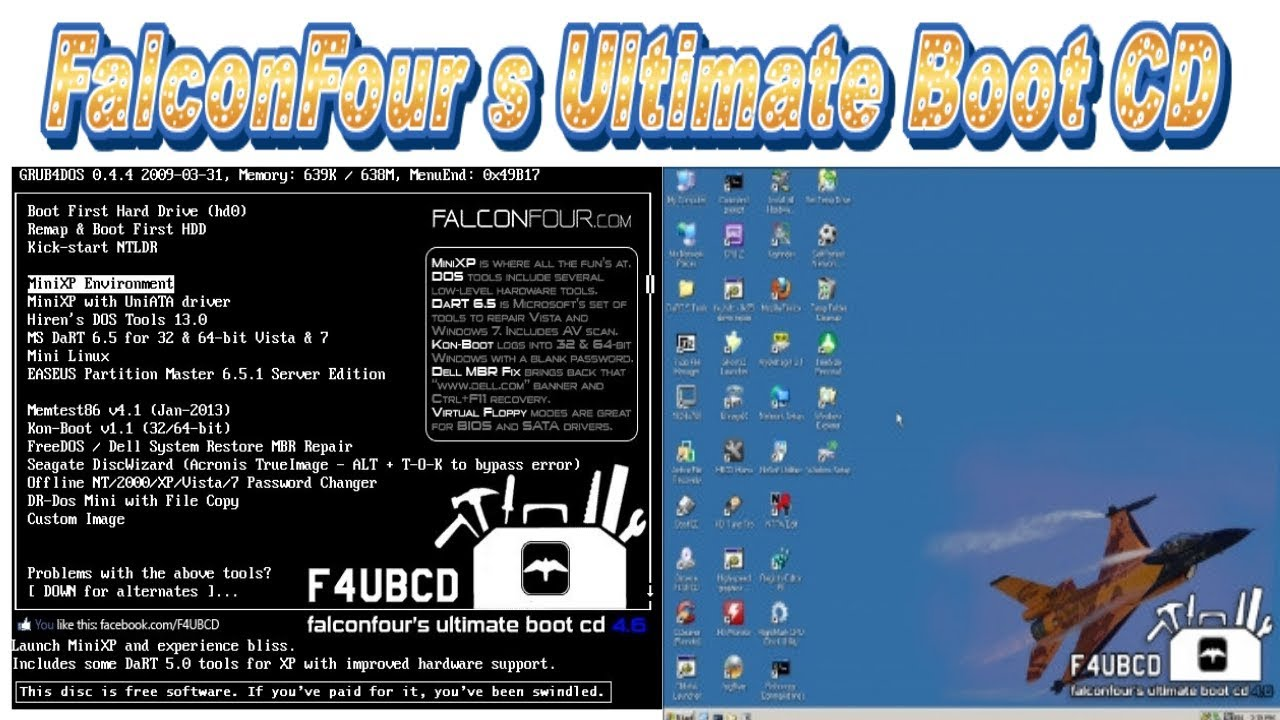 falconfour ultimate boot cd