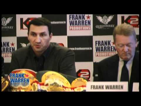 Klitschko Chisora Press Conference