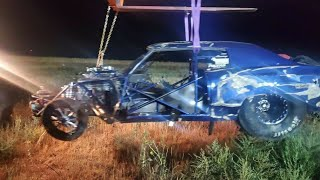 Street Outlaws Crash - Doc Street Beast Accident on the New Season of Street Outlaws OKC