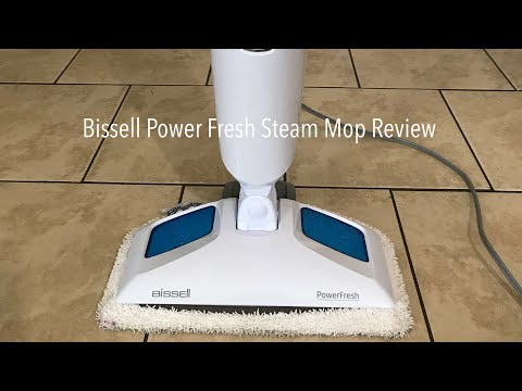 Bissell Power Fresh Steam Mop Review