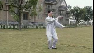 Тайцзи 24 формы. Учебный фильм из Шаолиня.
