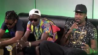 DJ Young Chow talks to Bajan Artist Fantom DunDeal, Marzville & Hypasounds