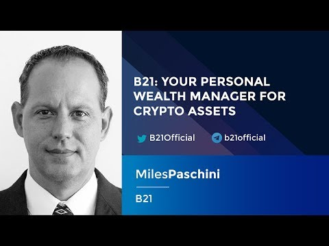 Miles Paschini: Your Personal Wealth Manager for Cryptoassets