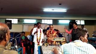 My professor marriage function senthil sir to sing the song for atha maga unna nenachi