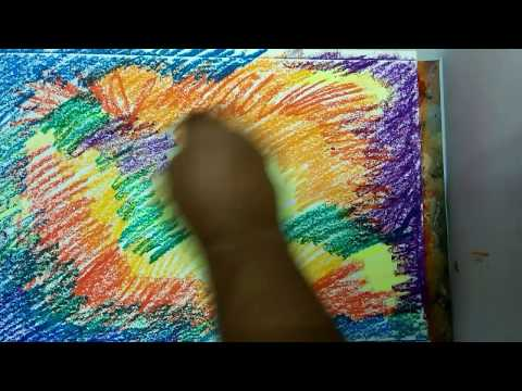 How To Paint/Abstract/ Brush and Palette knife /Acrylic Abstract Painting Tutorial
