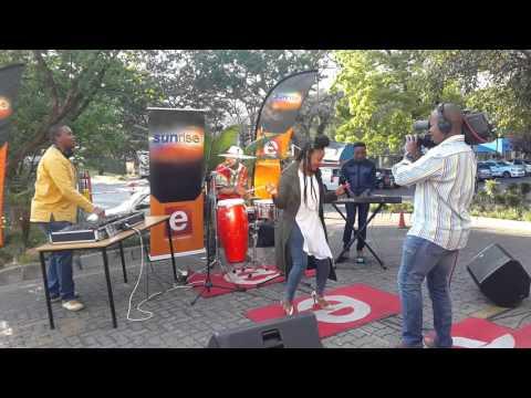 Dj Micks ft Lebohang - Hamba. LIVE ON ETV SUNRISE