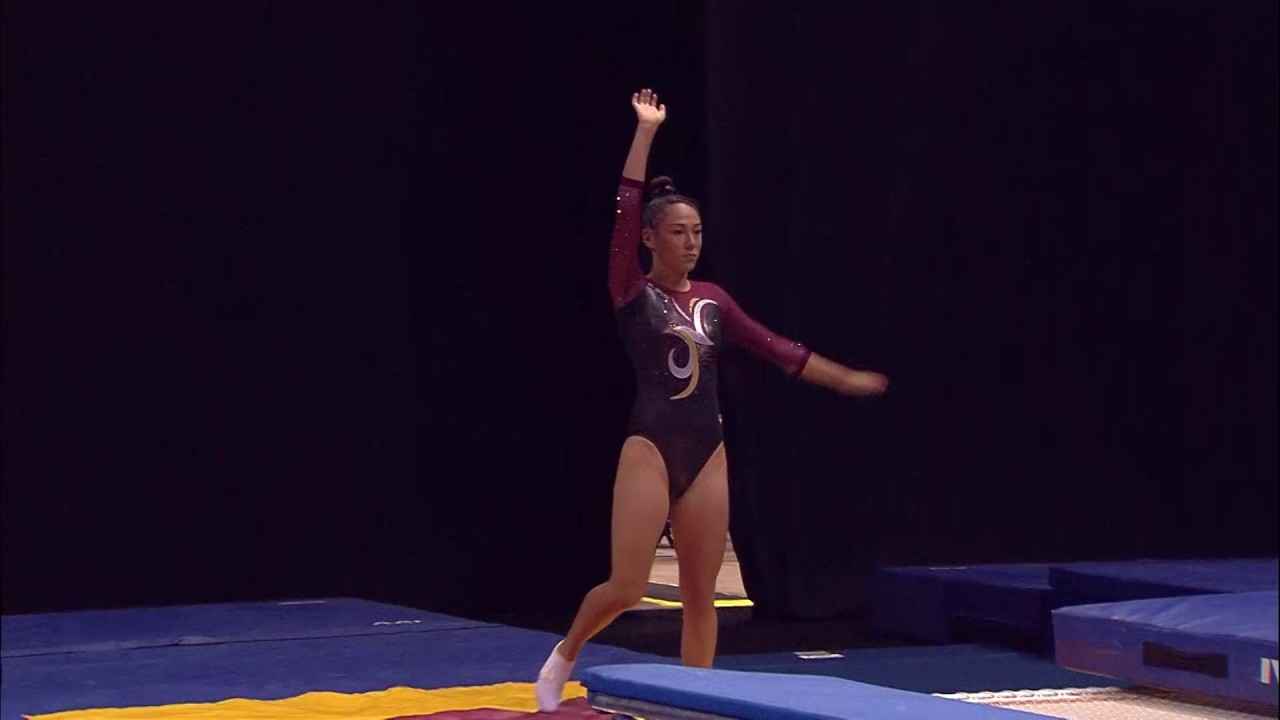 Paige Howard - Double Mini Pass 1 - 2017 USA Gymnastics Championships - Day  1