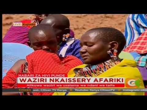 Residents of Kajiado County  eulogizes Gen. Joseph Nkaissery