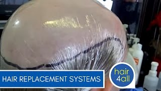 How to Make (Create) a Non-Surgical Hair Replacement Template for Men/Women