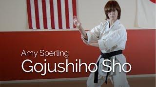 Amy Sperling Performing Gojushiho Sho 2013