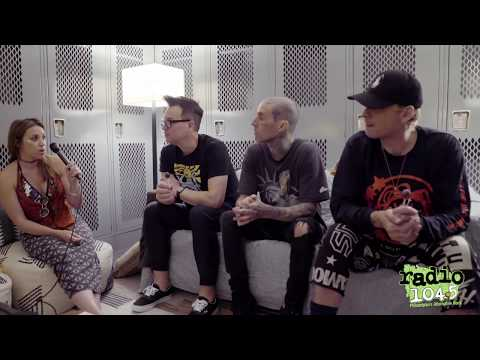 Radio104.5 'Blink182' Interview