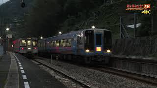 [4K60P]2000系 特急南風22号 小歩危駅通過