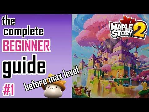 Maplestory 2: Beginner's Guide #1- Tips & Tricks