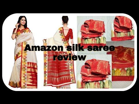 #amazon #flipkart #myntra  kanjivarm silk saree review.. honest review.. #shopping haul #diwali
