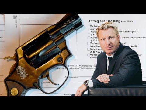 Darf der Bürgermeister einen Waffenschein beantragen, wenn er sich bedroht fühlt?