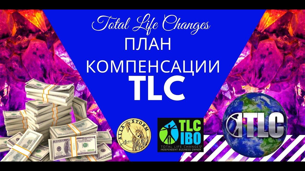 План компенсации TLC. Маркетинг план компании Total Life Changes.