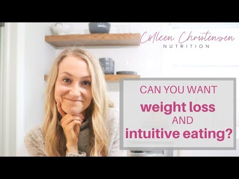 Can You Want Weight Loss AND Intuitive Eating?