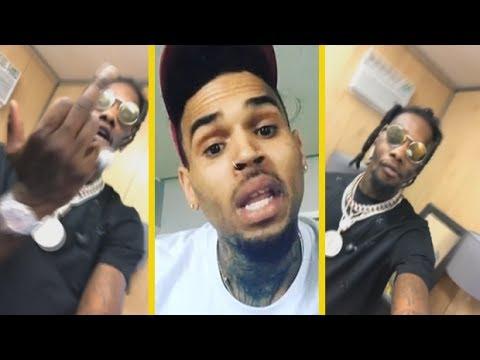 "Migos Offset ""Responds To Chris Brown Flexing; F*CK YOU N**GA"" Mp3"