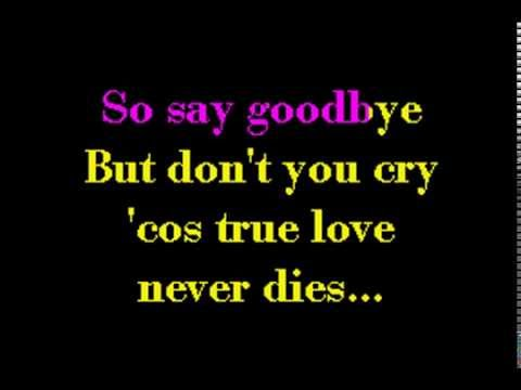 Say Goodbye - S Club 7 KWL Karaoke