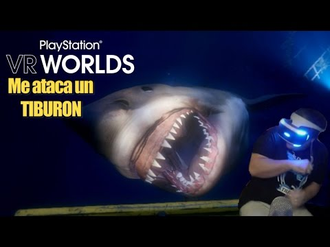 ME ATACA UN TIBURON - INMERSION | Playstation VR