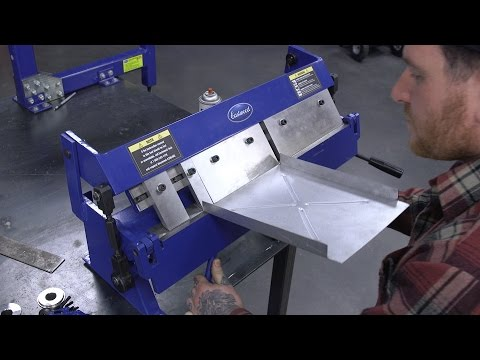 How to Make a Custom Battery Tray with the Box & Pan Brake - Eastwood
