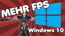 Windows 10 Optimierung FÜR GAMER | Mehr Fps durch ein paar Kniffe unter Windows 10