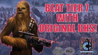 Unlock 7* Chewie with OG Bounty Hunters and Boba lead! livestream