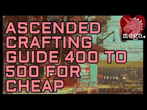 Guild Wars  Crafting Leveling Guide Cheapest