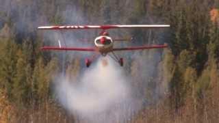 Barry Pendrak Airshows, video by Garrett Eschak Crystal Canyon