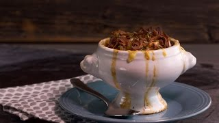 Ming Tsai's Shiitake French Onion Soup