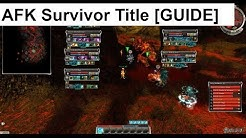 Guild Wars AFK SURVIVOR Title [GUIDE]