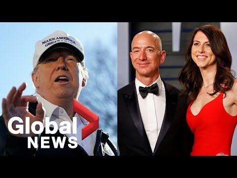 Trump wishes Amazon CEO Jeff Bezos luck on his divorce, says its going to be a beauty