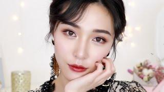 植村秀眼线笔评测+复古派对妆容 REVIEW☛Shu Uemura Liquid Eyeliner+Vintage Makeup[仇仇-qiuqiu]