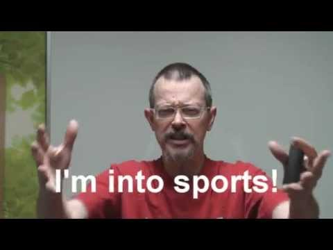 Easy English Expression 3 - I'm into sports! - Tôi mê thể thao!